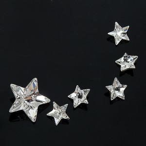 스와로브스키 크리스털  4745 리볼리 스타 팬시 스톤 (V컷 스타)